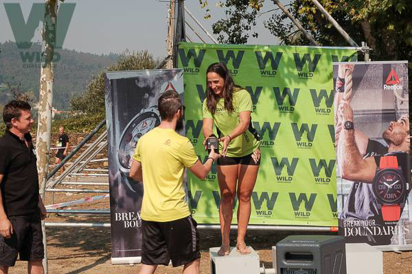 Winners of Portugal Call of the wild with Reebok watches